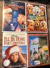 5 DISNEY CHRISTMAS DVD Movies - BRAND NEW- Sealed- Selling Altogether