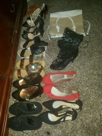 assorted pairs of shoes and sandals Atlanta, 30340