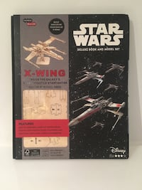 Star Wars x-wing book and model Mississauga, L5C 3X3