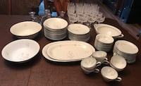 white ceramic plates and bowls Westminster, 92683
