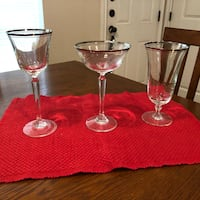 Briarcliffe Crystal wine, champagne and water glasses Bryan, 77802