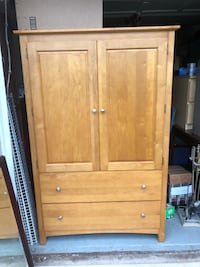 Large Wood Armoire  Chantilly, 20151