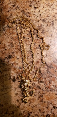 Tweety Bird gold plated chain & pendant