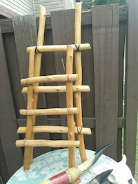 Decorative Kiva Wooden Ladder Lexington, 27292