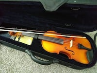 brown violin in case Las Vegas, 89121