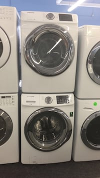 white front-load washer and dryer set Toronto, M6H 3L8