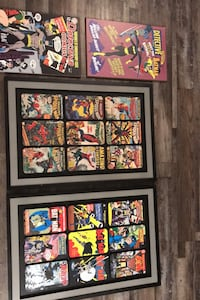 Batman DC woodframe posters  Farmers Branch, 75234