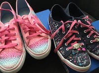 LOT 2 Pair STRIDE RITE Keds Big Kid Girls Size 4.5 Sneakers Shoes New York, 11215