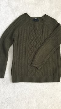 Dark green forever 21 sweater