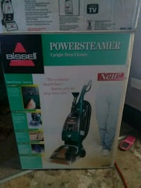 Never been used carpet steamer obo Butler, 16001