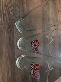 3 clear glass beer mugs Newmarket, L3Y 2P9