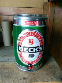 Becks beer keg Hedgesville