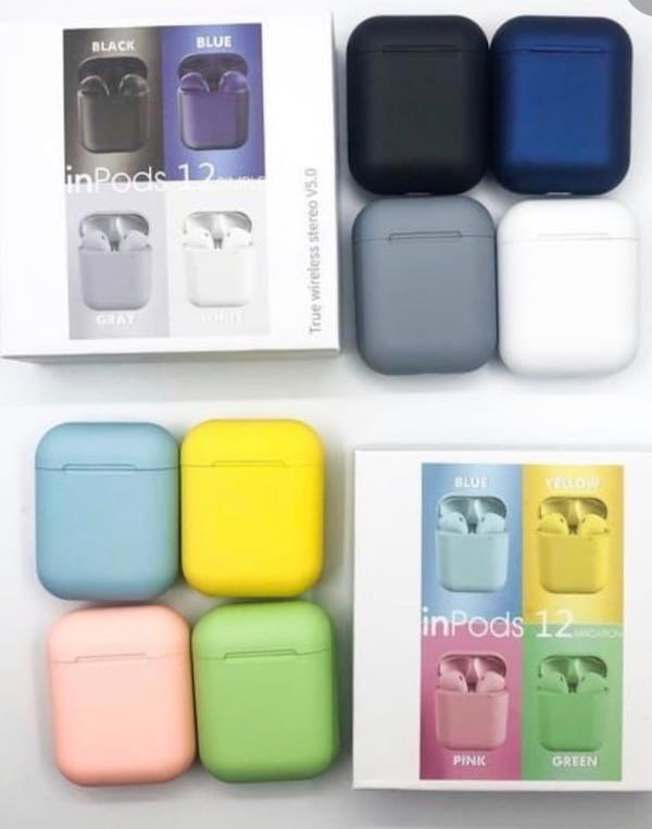 Airpods with touch command NEW!!! 494471cd-2be1-49f3-bf2e-eaa73a35a914