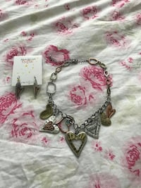 NWT necklace and earrings 295 mi