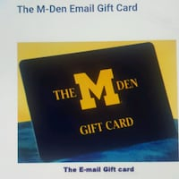 MDEN GIFT CARDS TRADE FOR YOUR GIFT CARDS. Ann Arbor