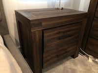 Solid wood nightstands, brand-new condition Los Angeles, 90064