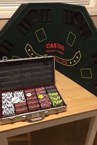 Poker Chips and Table Top Edmonton, T6E 2M8