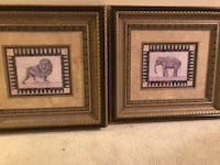 Lion and elephant prints in beautiful frames Phoenix, 85032