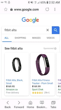 black and white Fitbit Charge 2 Springfield, N0L 2J0