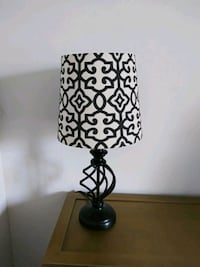 black and white table lamp Sandy Springs, 30328