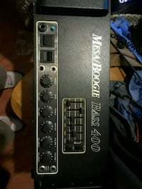 Mesa Boogie bass 400 what with four tubes Lodi, 95240