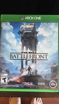 Xbox One Star Wars Battle Front game case Calgary, T2G