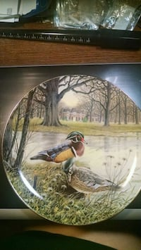 Wood Duck Collector Plate Centreville, 20120