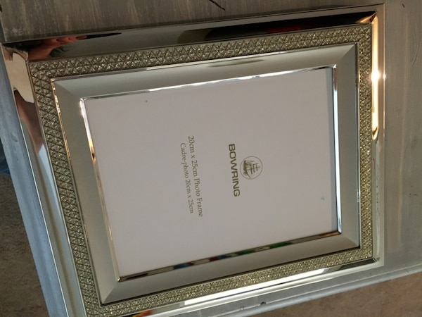 Bowring Jewel Collection Silver Picture Frame 3ce5c8b2-3bdd-42fe-b79a-ace4ecc5fc01