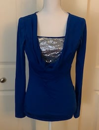 VENUS Royal blue top Stafford, 22556