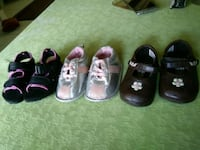 four pairs of assorted-color shoes Bakersfield, 93307