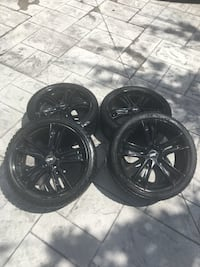 4 Winter tires with DAI Alloy Rims Mississauga, L5R 3H4