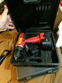 red and black cordless power drill Port Coquitlam, V3C 1Z8