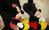 LOWERED PRICE 1977 Mickey & Minnie Mouse Plush Pickering, L1V 3M9