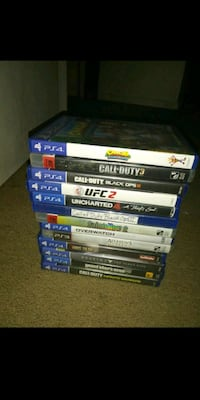 Assorted Ps4 Games Virginia Beach, 23462