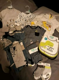 baby's assorted clothes Elkhart