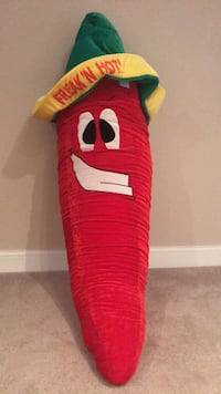 "Stuffed Red Chili Pepper over 48"" Woodbridge, 22193"