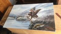 white,brown, and black eagle painting Covina, 91724