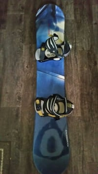 SALOMON DRIVER 150 SNOWBOARD & ATLANTIS BINDINGS   Barrie, L4M