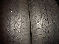 I have two tires for sale Yokohama 215/60/16 for $60 for pick up +cash 2012 never in the road new  33 km