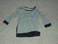 gray and black striped scoop neck sweater Grand Rapids, 55744