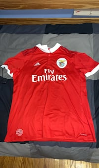 Red Benfica Jersey (Size: Large Toronto, M6G 2Z3