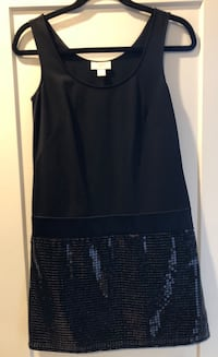 Loft Little Black Dress - LBD with sequins