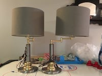 Pair table lamps Mississauga, L5N 2G2