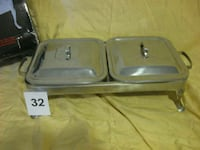 Gourmet Buffet covered serving dishes. Lincolnshire, 60069
