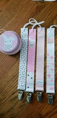 Baby pacifier clip Crystal, 55428