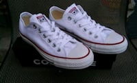 Converse Ox White Women Size 7 Men 5 New! Columbus, 43213