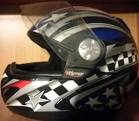 Casco integrale Warrior nero, grigio e blu Provincia di Salerno, 84098