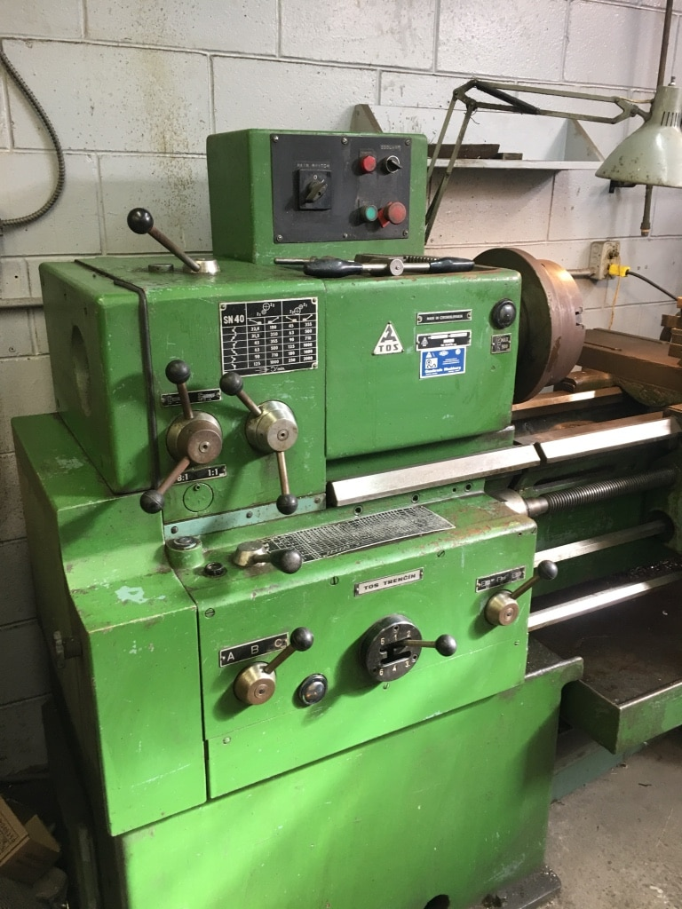 Set of tables for TOS TRENCIN SN Lathe