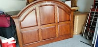 Beautiful Queen Bed Frame - Solid Wood North Bellmore