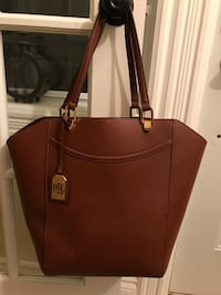 women's brown RLL leather tote bag Kitchener, N2P 2G1